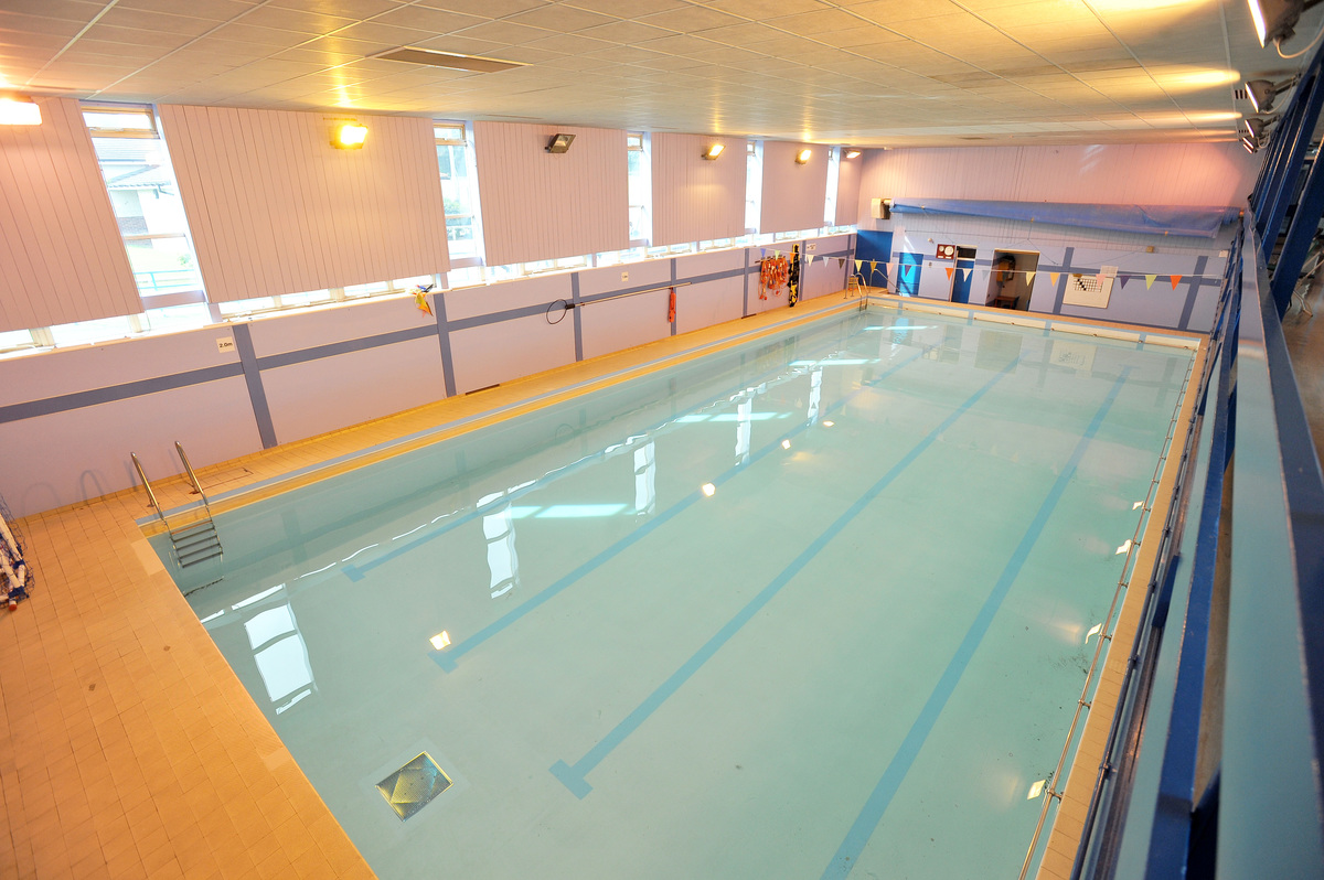 Swimming Pool At The West Bridgford School For Hire In