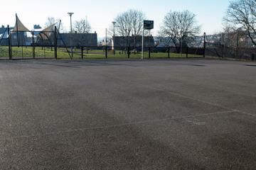 Outdoor Netball / Basketball Court - Fairfield High School - Bristol City of - 2 - SchoolHire