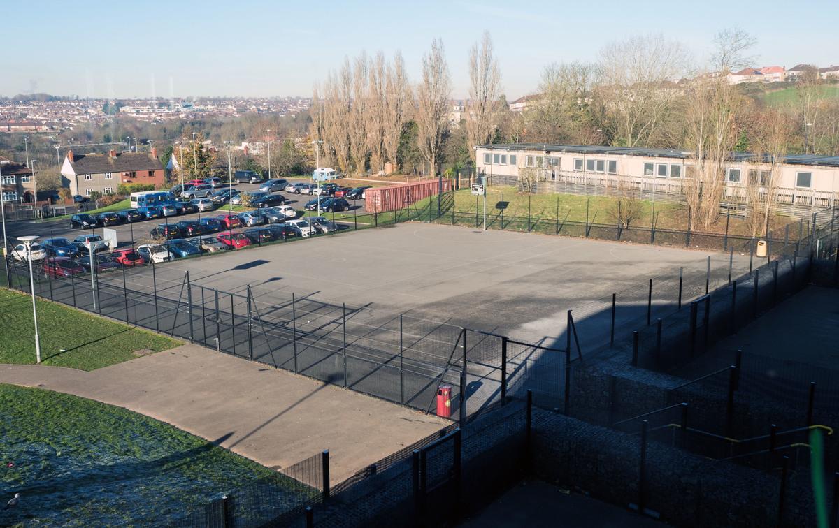 Outdoor Netball / Basketball Court - Fairfield High School - Bristol City of - 4 - SchoolHire