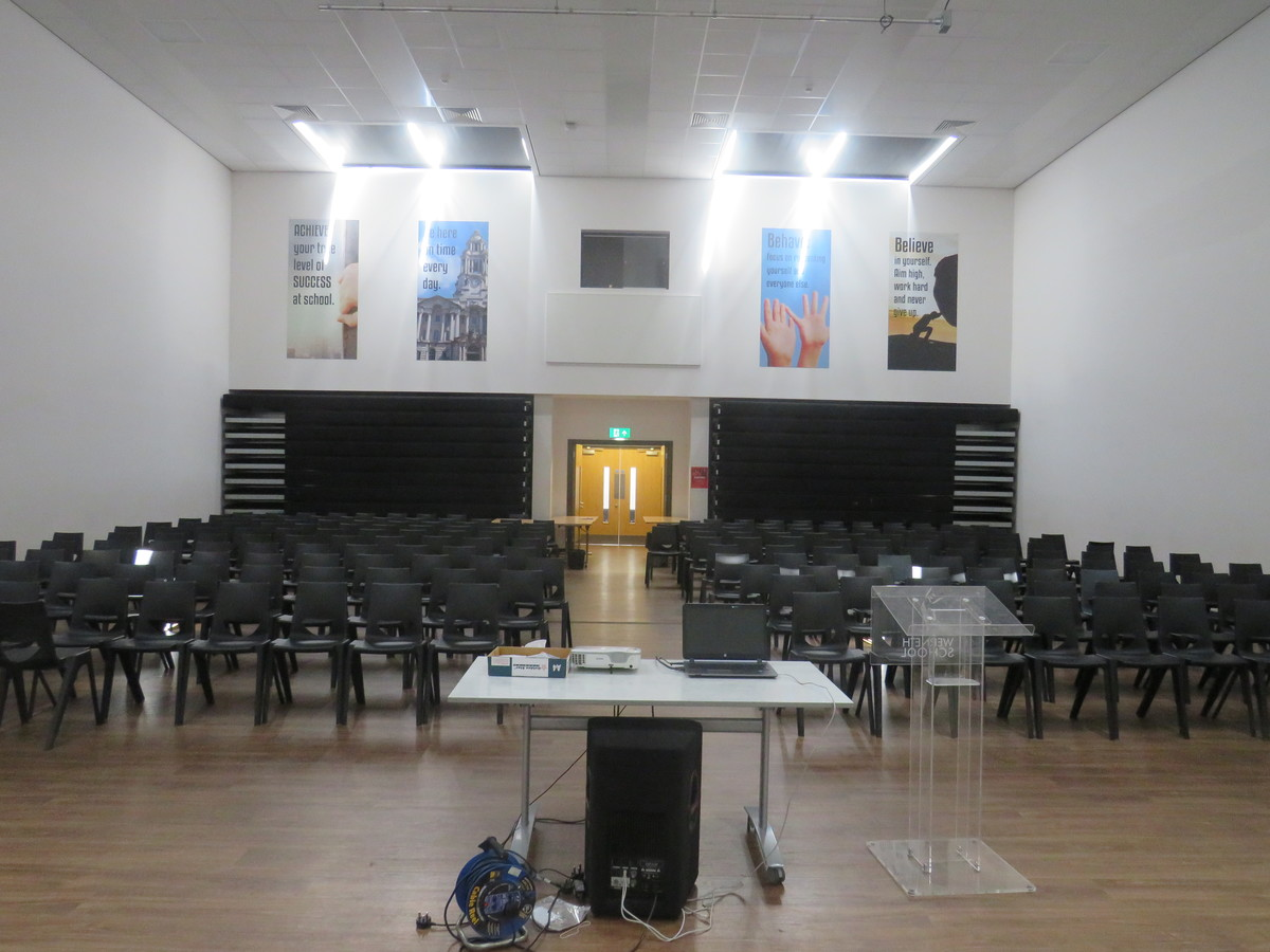 Main Hall - Werneth School - Stockport - 4 - SchoolHire