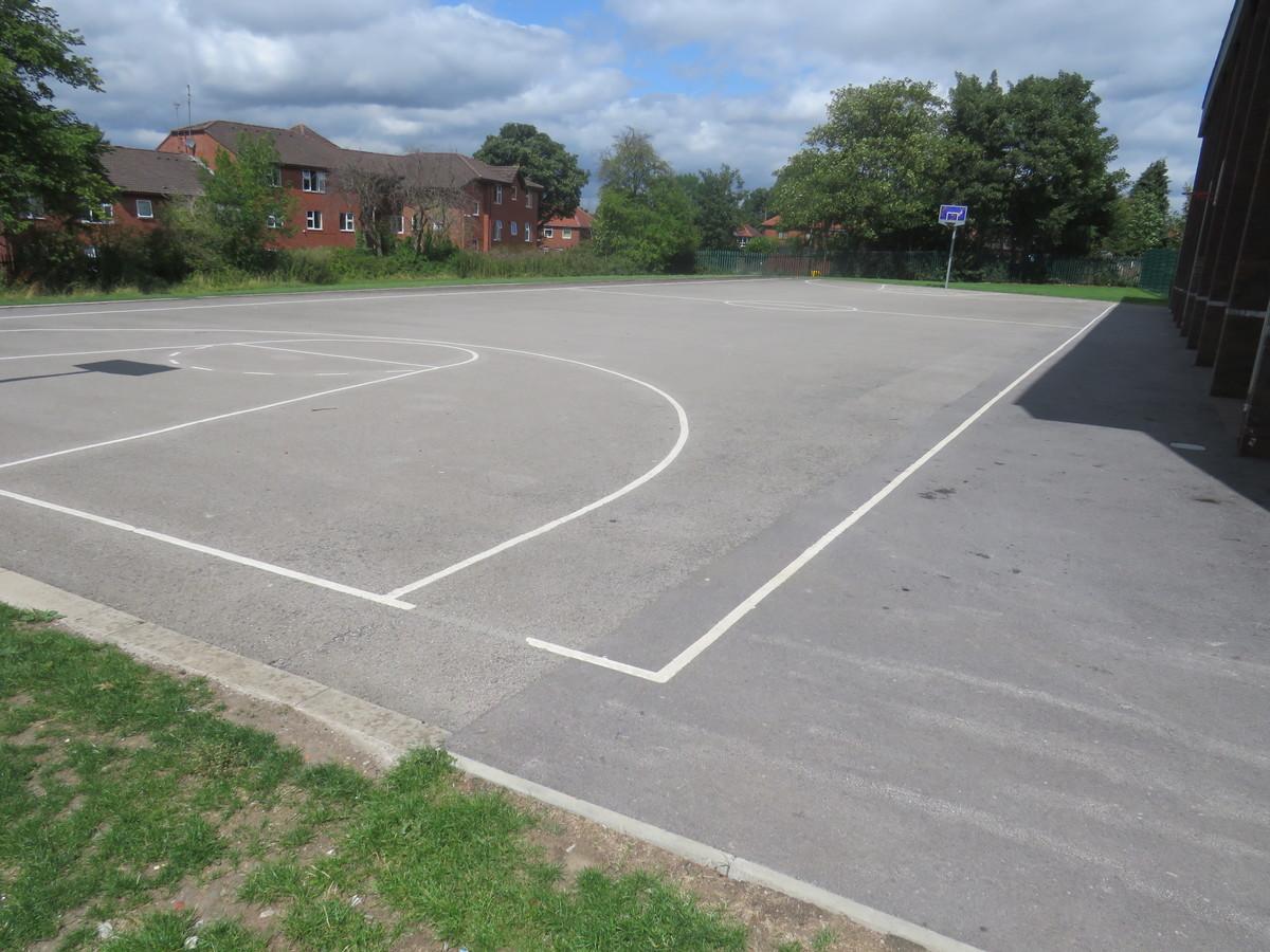 Basketball  Court - Werneth School - Stockport - 1 - SchoolHire