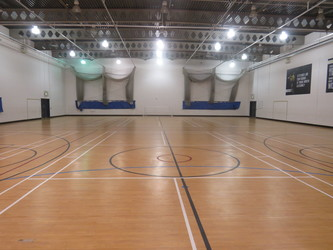 Sports Hall - Werneth School - Stockport - 1 - SchoolHire