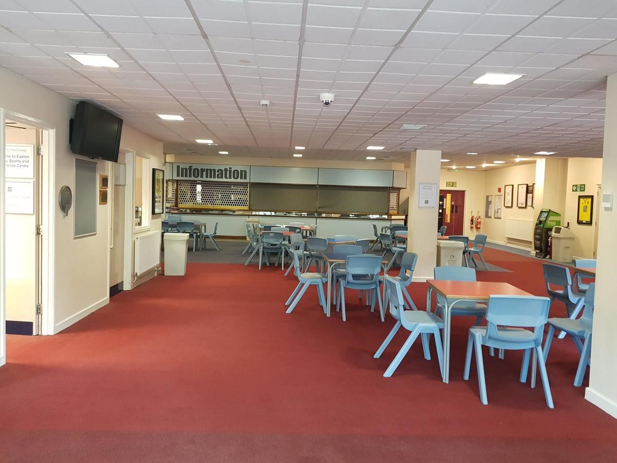 Reception & Cafe Area - Easton Sport Centre - Norfolk - 1 - SchoolHire