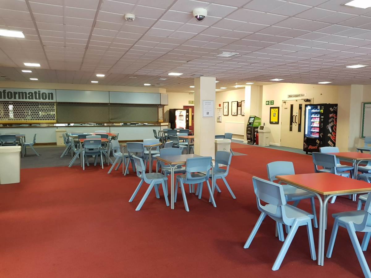 Reception & Cafe Area - Easton Sport Centre - Norfolk - 2 - SchoolHire