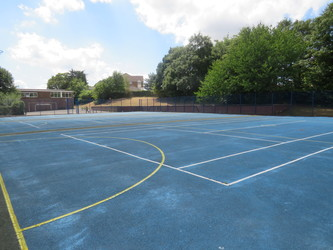 MUGA - Netball & Tennis - The Warwick School - Surrey - 2 - SchoolHire