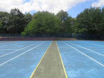 MUGA - Netball & Tennis - The Warwick School - Surrey - 3 - SchoolHire