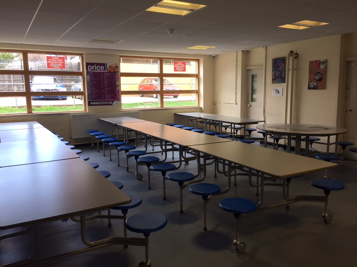 Canteen (Upper School) - Preston Manor School - Brent - 3 - SchoolHire