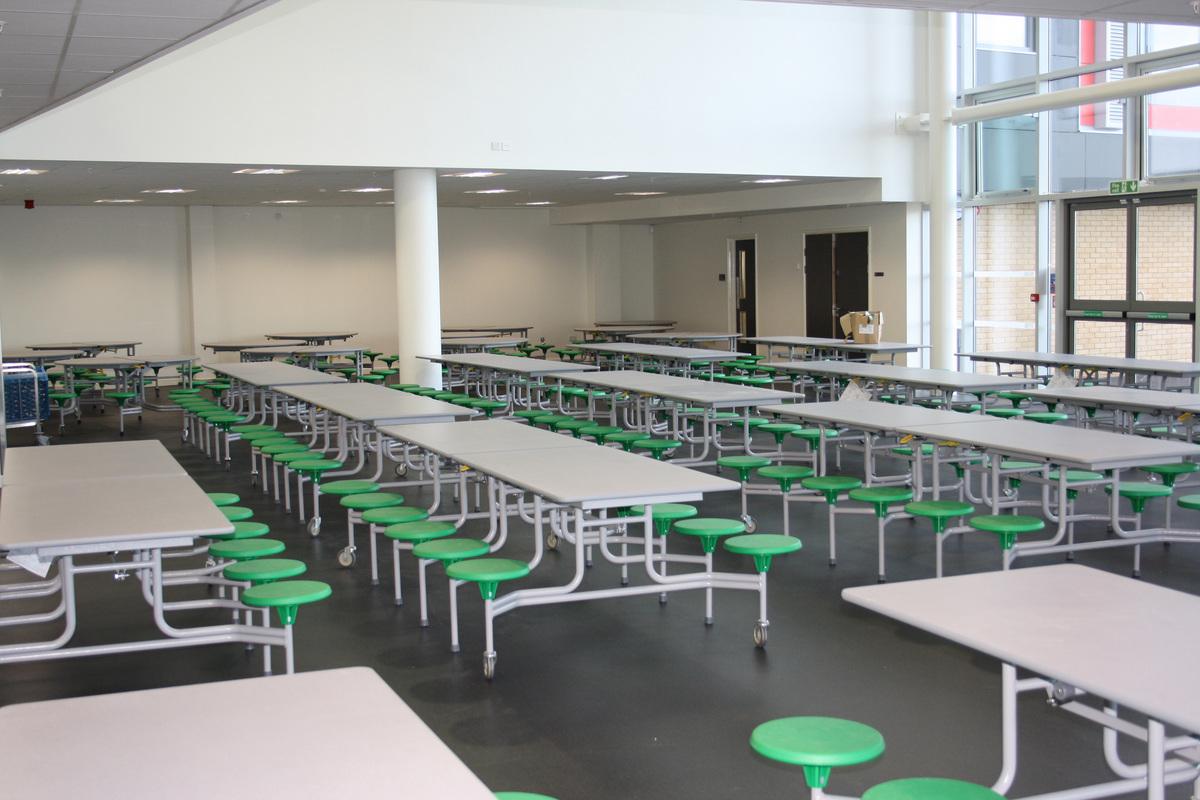 Canteen - Skinners' Academy - Hackney - 1 - SchoolHire