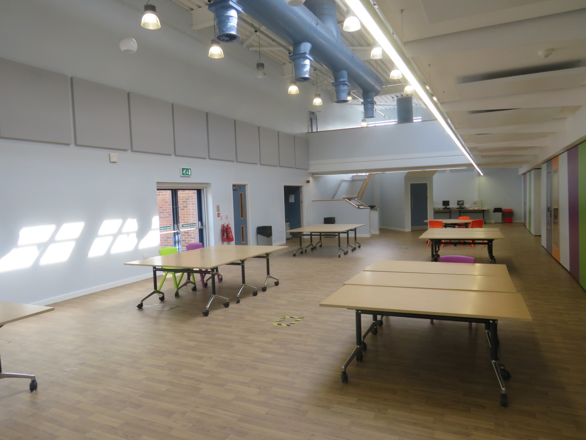 Sixth Form - Central Well - The Joseph Whitaker School - Nottinghamshire - 3 - SchoolHire