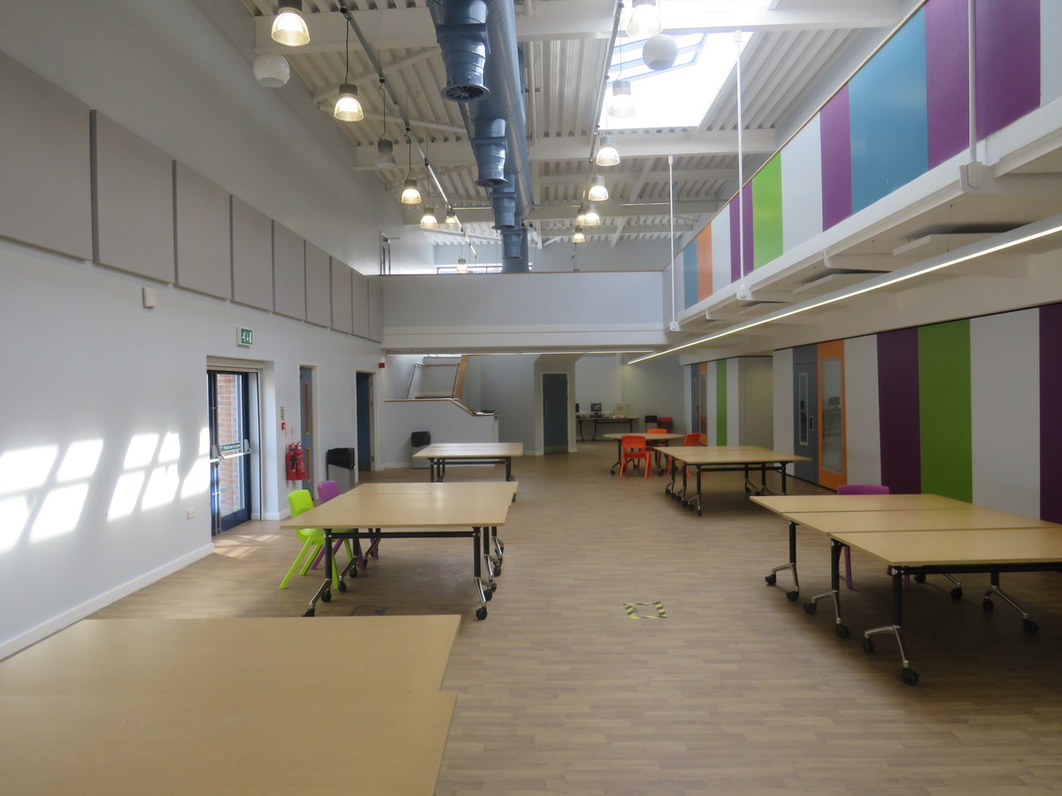 Sixth Form - Central Well - The Joseph Whitaker School - Nottinghamshire - 4 - SchoolHire