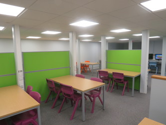 Sixth Form - Quiet Area - The Joseph Whitaker School - Nottinghamshire - 4 - SchoolHire