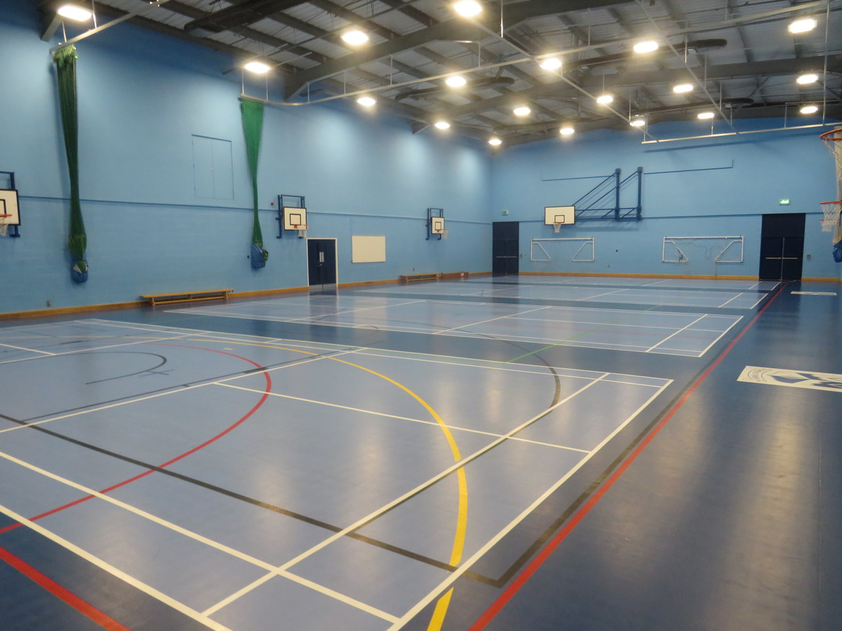 Sports Hall - The Joseph Whitaker School - Nottinghamshire - 2 - SchoolHire