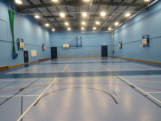 Sports Hall - The Joseph Whitaker School - Nottinghamshire - 4 - SchoolHire