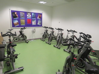 Indoor Cycling Room - South Devon College Sports and Fitness - Devon - 2 - SchoolHire