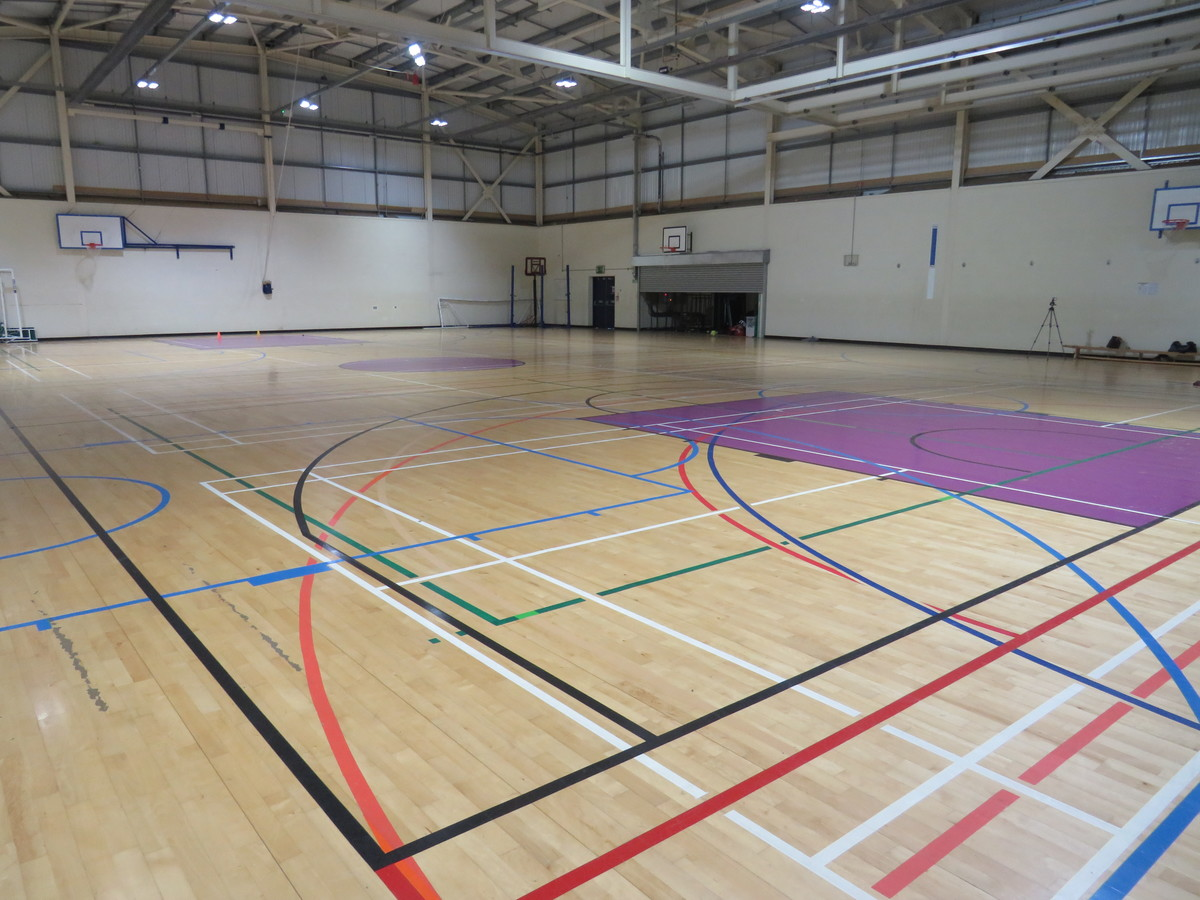 Sports Hall - South Devon College Sports and Fitness - Devon - 1 - SchoolHire