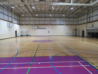 Sports Hall - South Devon College Sports and Fitness - Devon - 2 - SchoolHire