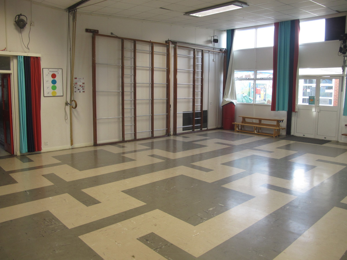 Main Hall - Wallace Fields Junior School - Surrey - 4 - SchoolHire