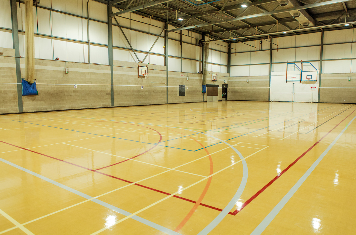 Sports Hall - Notley High School & Braintree Sixth Form - Essex - 1 - SchoolHire