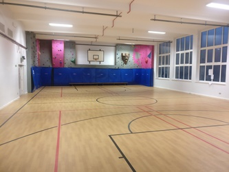 Sports Hall 2 - Merchants of Fitness @ OLSC - Wolverhampton - 1 - SchoolHire