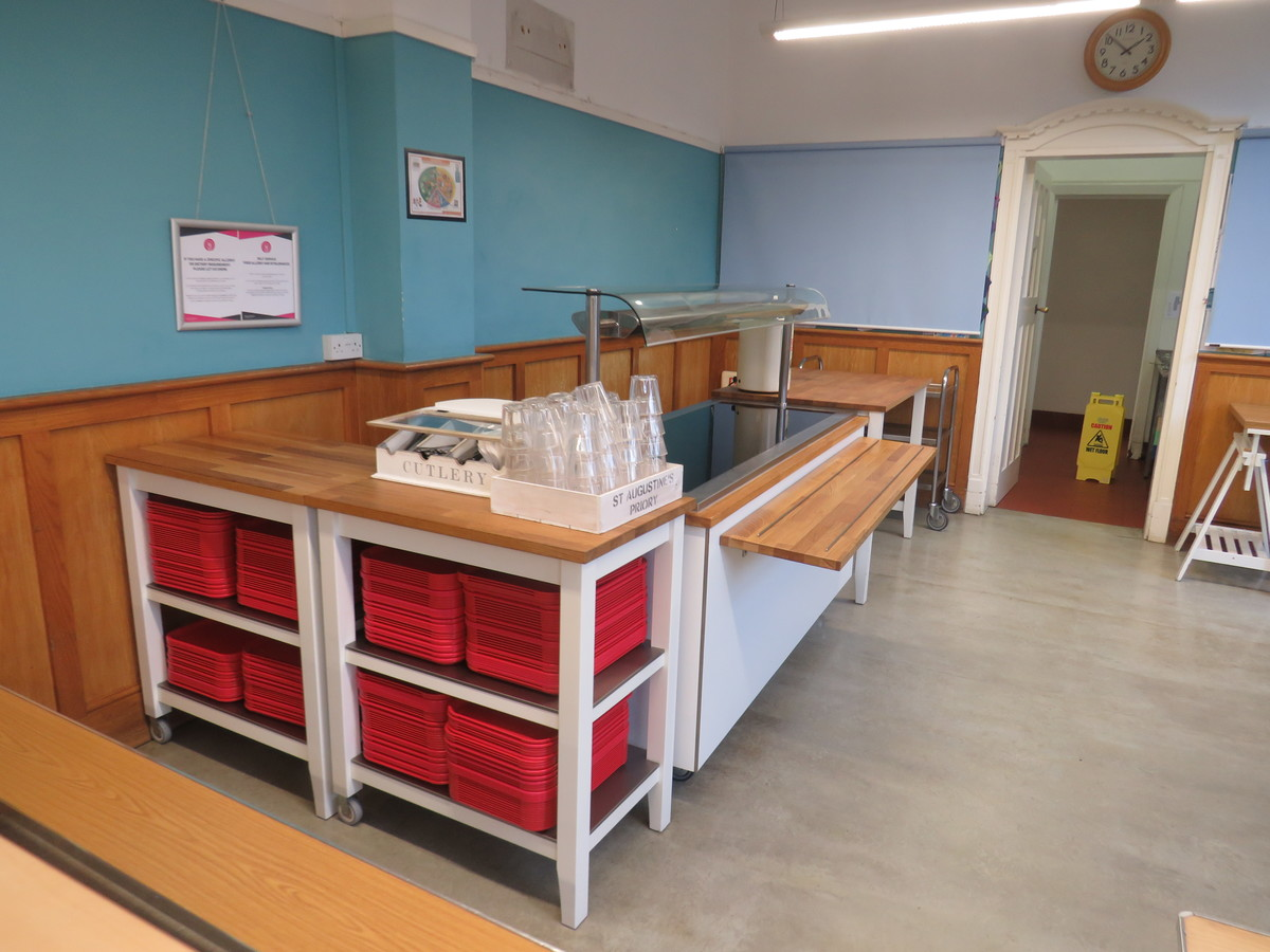 Pupils Refectory - St Augustine's Priory - Ealing - 2 - SchoolHire