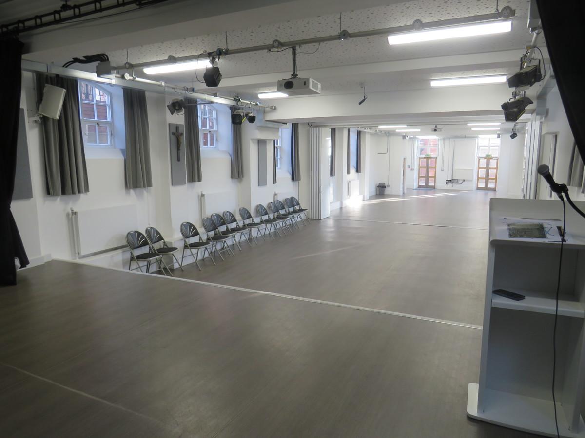 School Hall - St Augustine's Priory - Ealing - 2 - SchoolHire