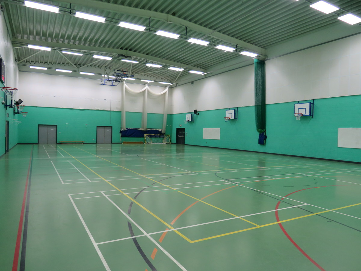 Sports Hall - Madani Schools Federation - Leicestershire - 1 - SchoolHire