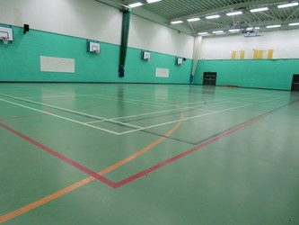 Sports Hall - Madani Schools Federation - Leicestershire - 2 - SchoolHire