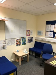 Small counselling room