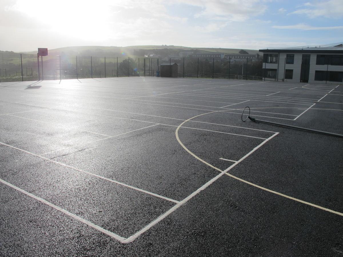 MUGA - Netball - The Ilfracombe Academy - Devon - 3 - SchoolHire