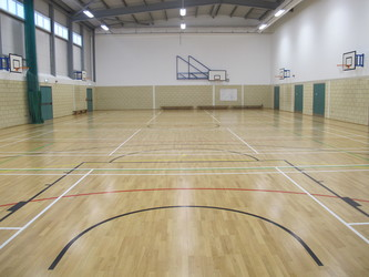 Sports Hall  - The Ilfracombe Academy - Devon - 1 - SchoolHire