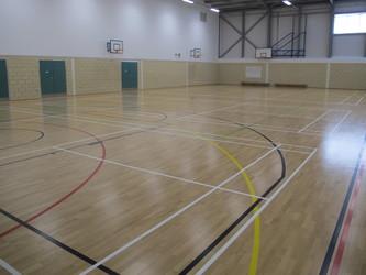 Sports Hall  - The Ilfracombe Academy - Devon - 3 - SchoolHire