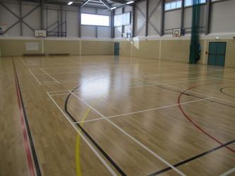 Sports Hall  - The Ilfracombe Academy - Devon - 4 - SchoolHire