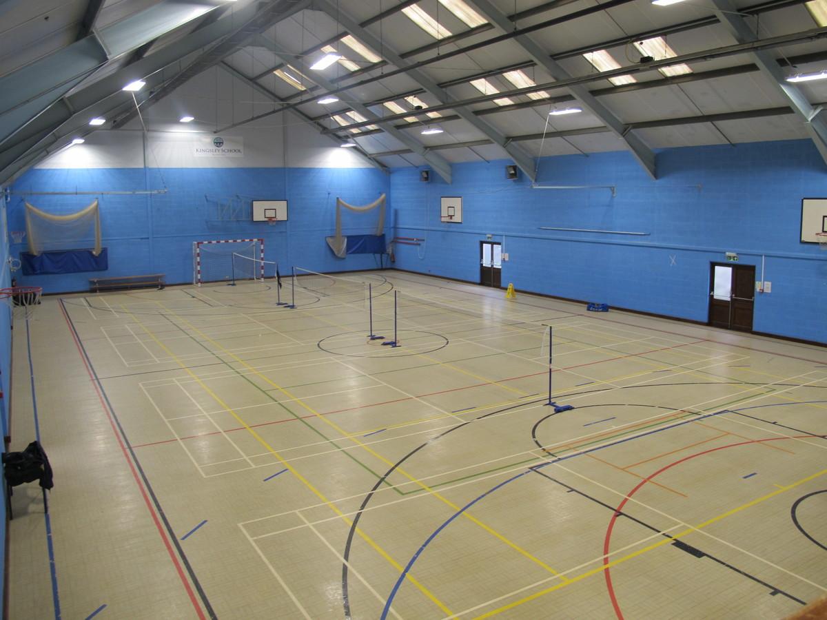 Sports Hall  - Kingsley School Bideford - Devon - 1 - SchoolHire