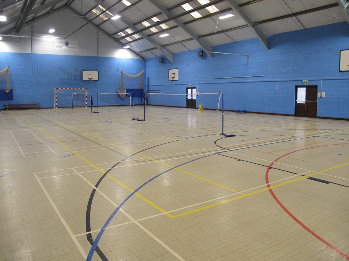 Sports Hall  - Kingsley School Bideford - Devon - 3 - SchoolHire