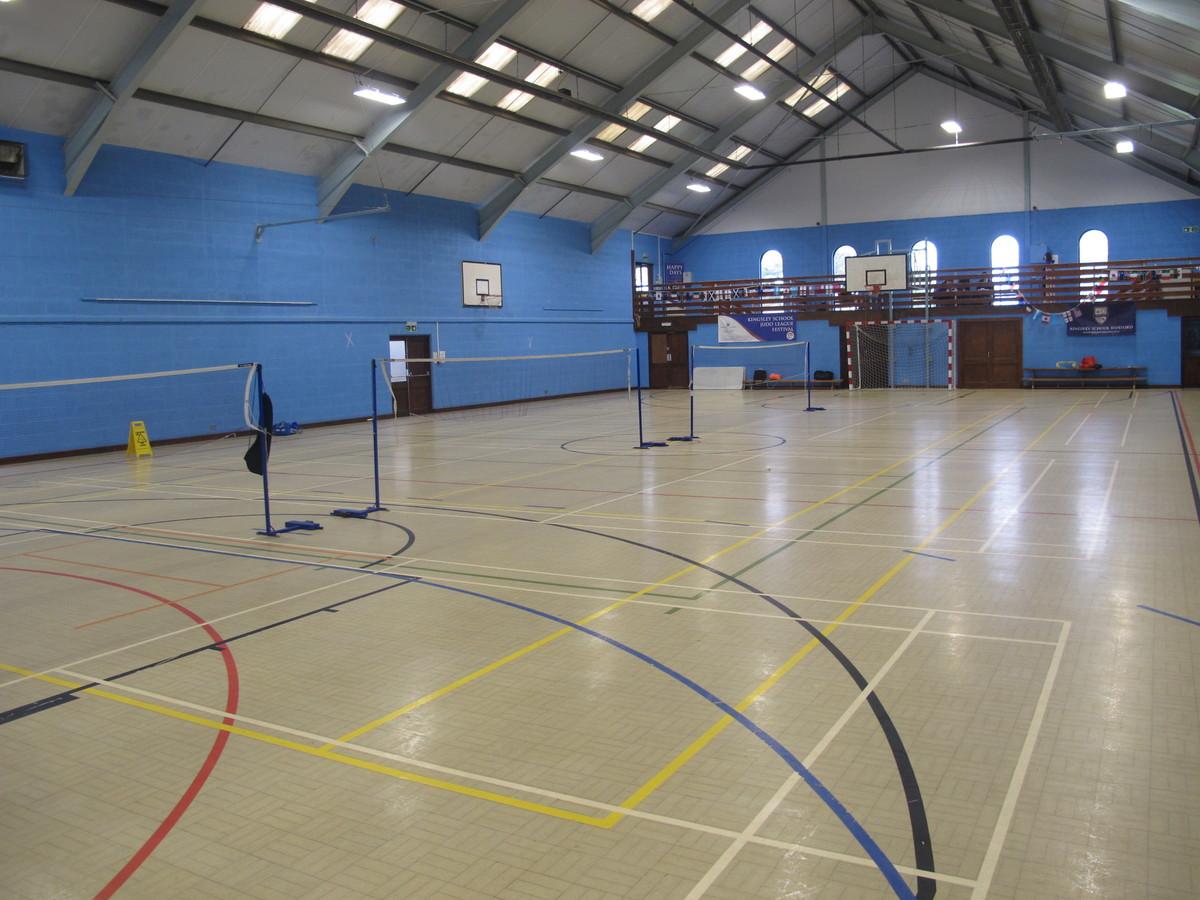 Sports Hall  - Kingsley School Bideford - Devon - 4 - SchoolHire