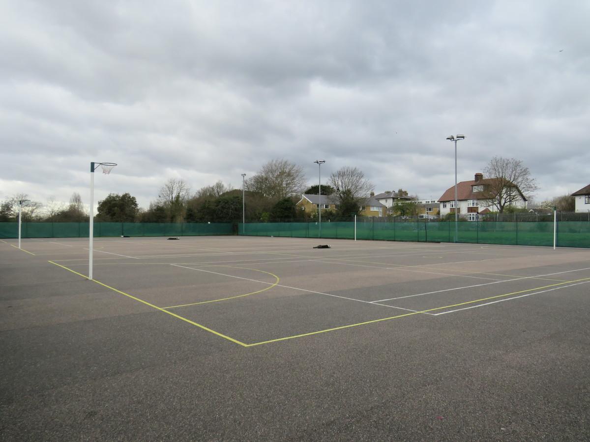 Netball Court Area - Blackheath High School - Greenwich - 1 - SchoolHire