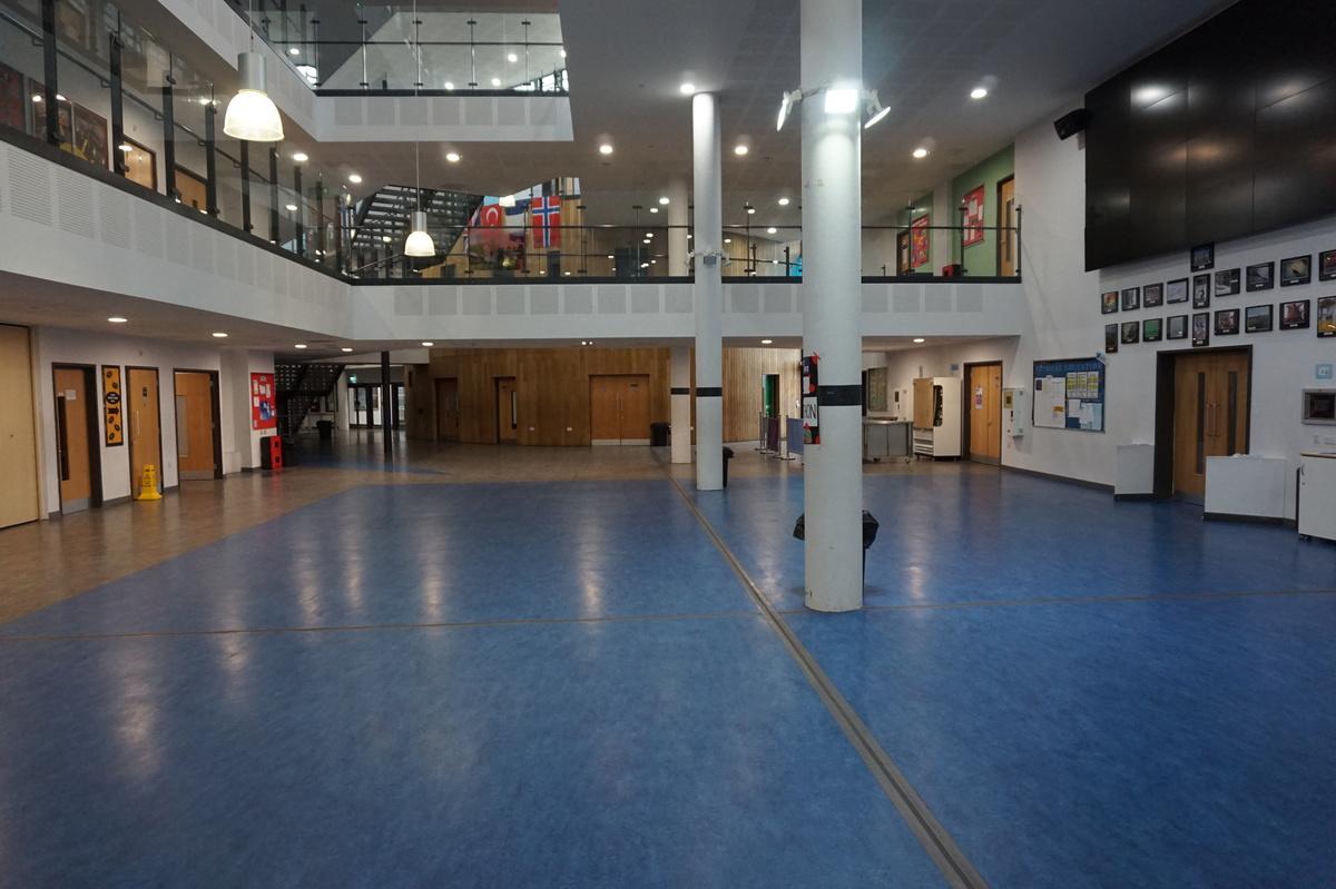 Main Building Atrium - The Littlehampton Academy - West Sussex - 3 - SchoolHire