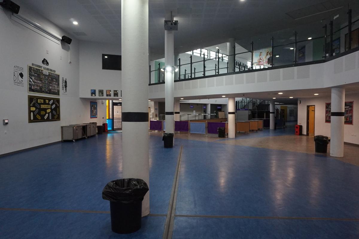 Main Building Atrium - The Littlehampton Academy - West Sussex - 4 - SchoolHire
