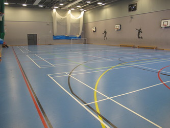 Sports Hall - St John Bosco College - Wandsworth - 1 - SchoolHire