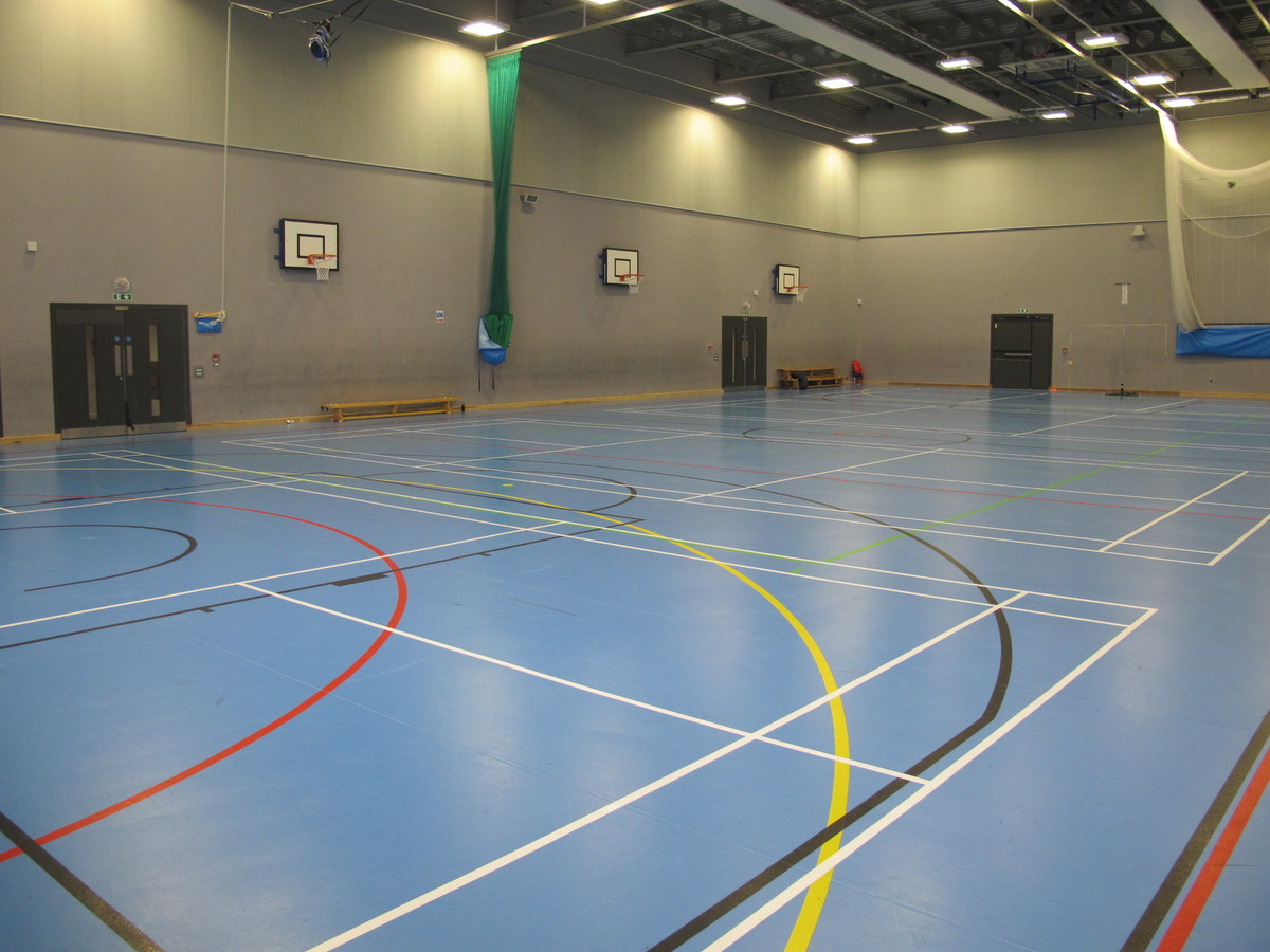 Sports Hall - St John Bosco College - Wandsworth - 2 - SchoolHire