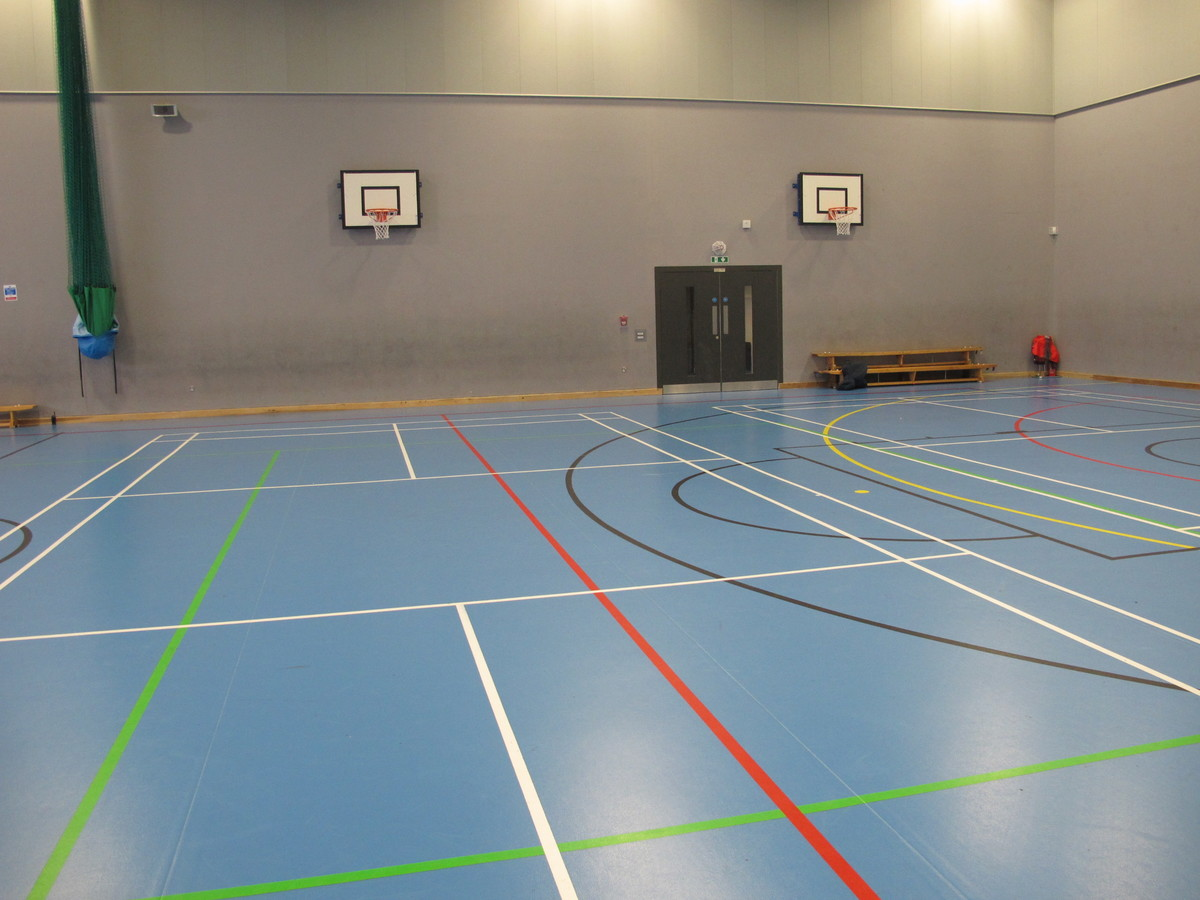 Sports Hall - St John Bosco College - Wandsworth - 3 - SchoolHire