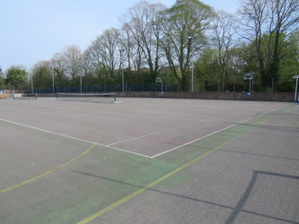Tennis/Netball Courts - The Perins MAT - Hampshire - 1 - SchoolHire