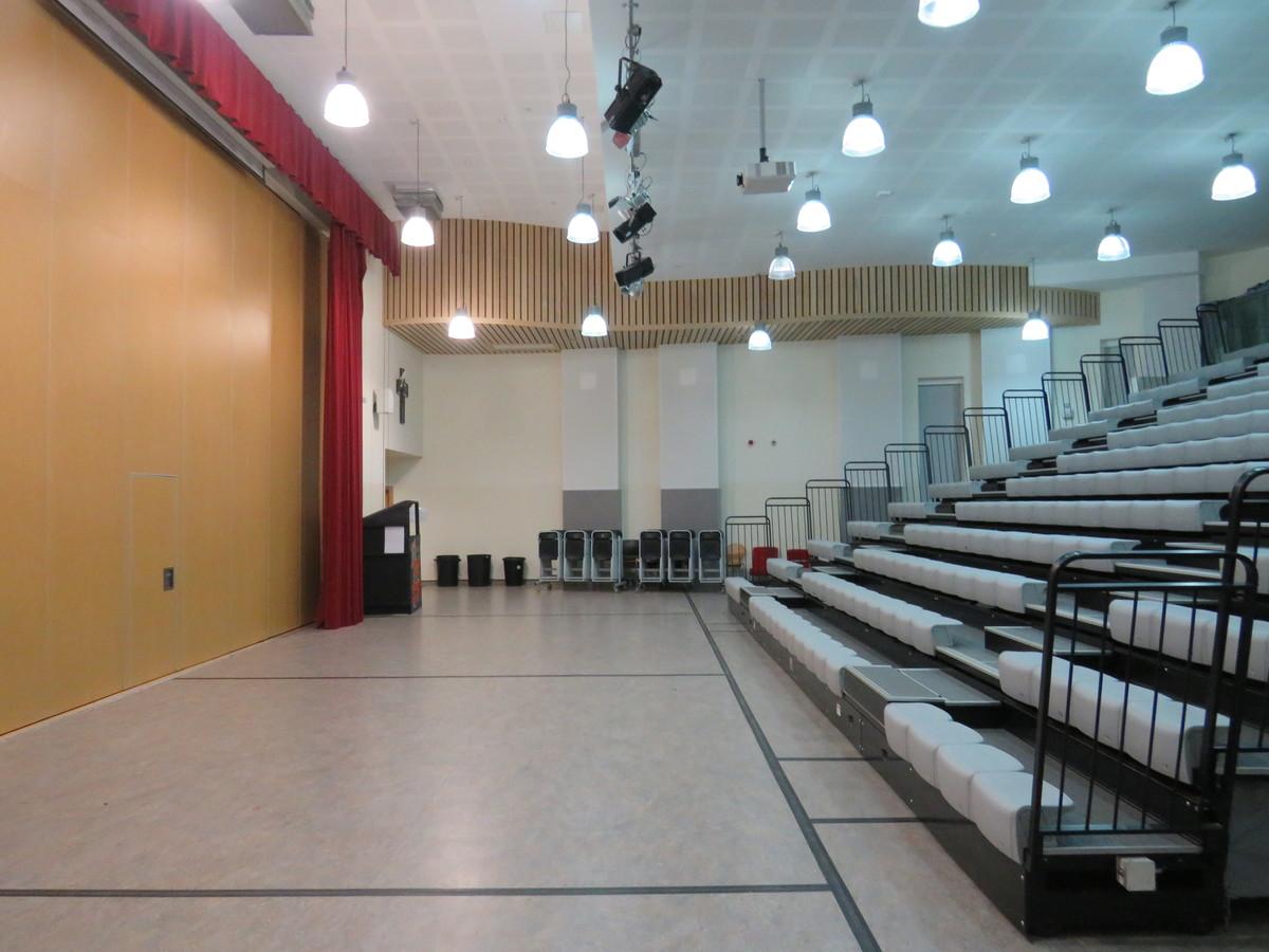 Main Hall - Epping St John's School - Essex - 1 - SchoolHire