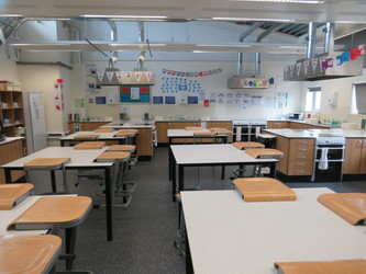 Food Technology Room - Epping St John's School - Essex - 2 - SchoolHire